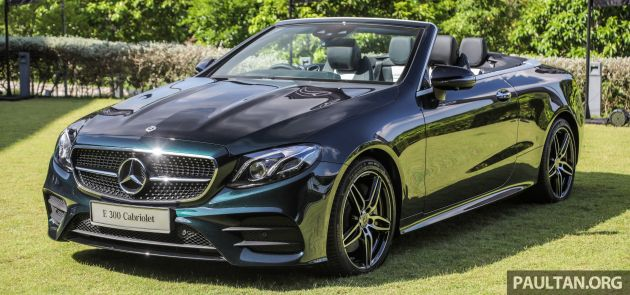 A238 Mercedes Benz E Cl Cabriolet Launched In Malaysia
