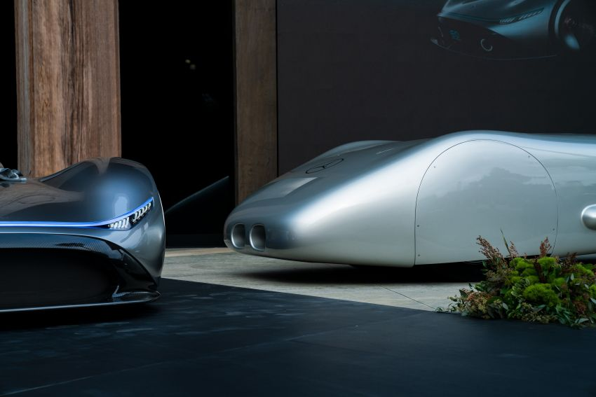Mercedes-Benz Vision EQ Silver Arrow revealed at Pebble Beach – all-electric, single-seat, 738 hp concept Image #855406