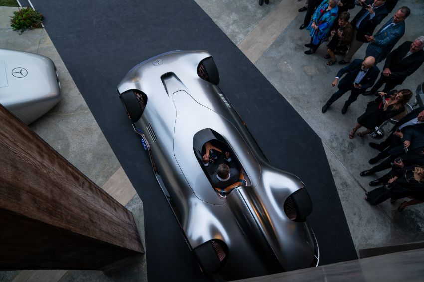 Mercedes-Benz Vision EQ Silver Arrow revealed at Pebble Beach – all-electric, single-seat, 738 hp concept Image #855392
