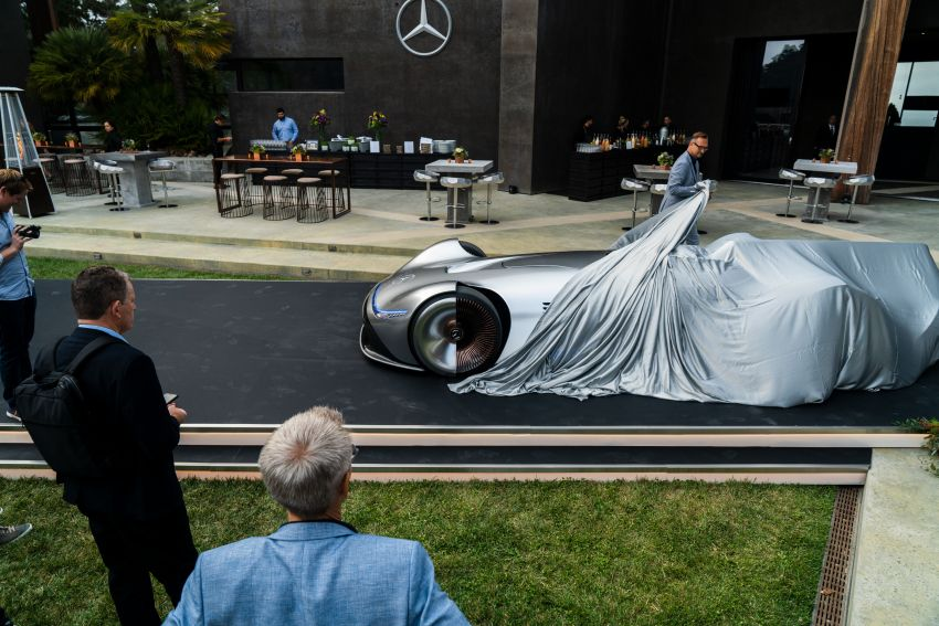 Mercedes-Benz Vision EQ Silver Arrow revealed at Pebble Beach – all-electric, single-seat, 738 hp concept Image #855410