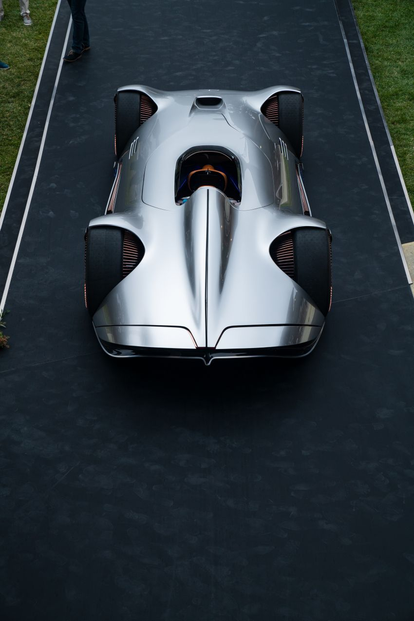 Mercedes-Benz Vision EQ Silver Arrow revealed at Pebble Beach – all-electric, single-seat, 738 hp concept Image #855416