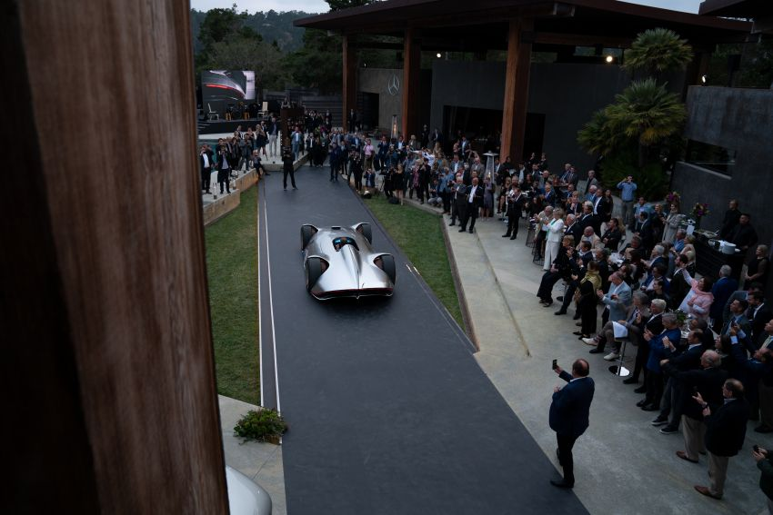 Mercedes-Benz Vision EQ Silver Arrow revealed at Pebble Beach – all-electric, single-seat, 738 hp concept Image #855418