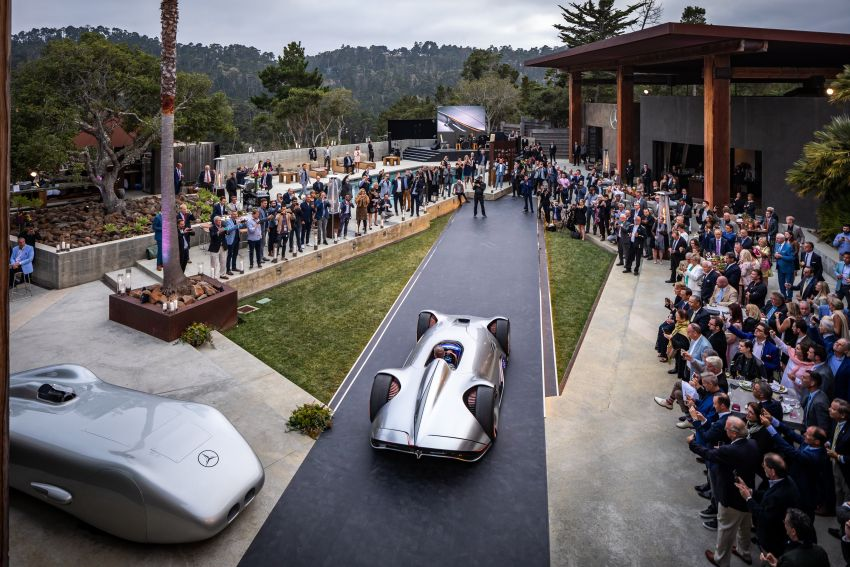 Mercedes-Benz Vision EQ Silver Arrow revealed at Pebble Beach – all-electric, single-seat, 738 hp concept Image #855393