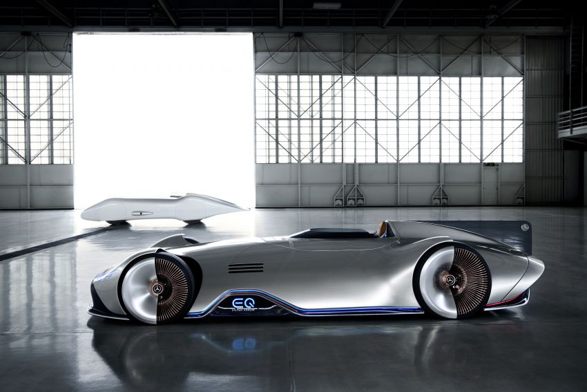 Mercedes-Benz Vision EQ Silver Arrow revealed at Pebble Beach – all-electric, single-seat, 738 hp concept Image #855423