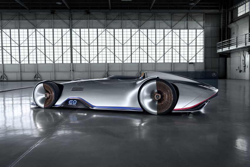 Mercedes-Benz Vision EQ Silver Arrow revealed at Pebble Beach – all-electric, single-seat, 738 hp concept Image #855427