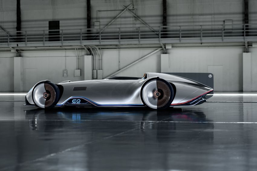 Mercedes-Benz Vision EQ Silver Arrow revealed at Pebble Beach – all-electric, single-seat, 738 hp concept Image #855428
