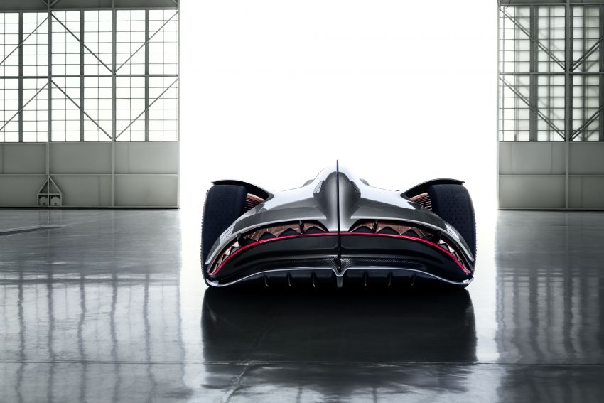Mercedes-Benz Vision EQ Silver Arrow revealed at Pebble Beach – all-electric, single-seat, 738 hp concept Image #855430