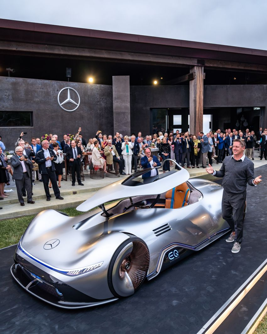Mercedes-Benz Vision EQ Silver Arrow revealed at Pebble Beach – all-electric, single-seat, 738 hp concept Image #855394