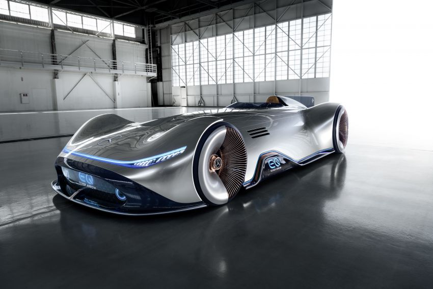 Mercedes-Benz Vision EQ Silver Arrow revealed at Pebble Beach – all-electric, single-seat, 738 hp concept Image #855432