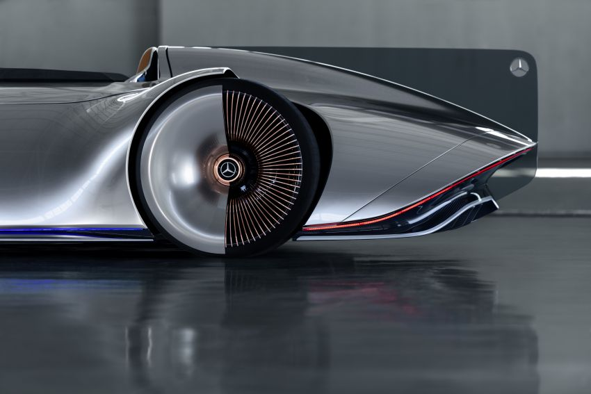 Mercedes-Benz Vision EQ Silver Arrow revealed at Pebble Beach – all-electric, single-seat, 738 hp concept Image #855435