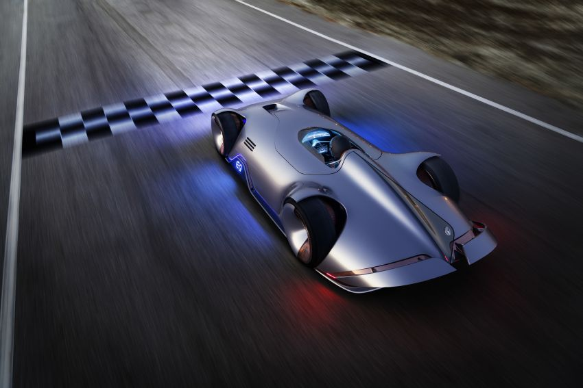 Mercedes-Benz Vision EQ Silver Arrow revealed at Pebble Beach – all-electric, single-seat, 738 hp concept Image #855437