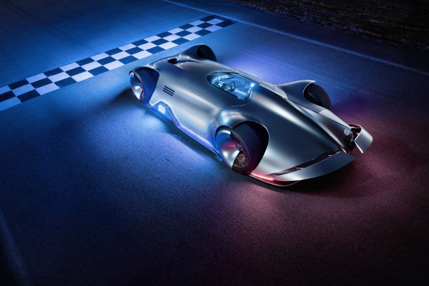 Mercedes-Benz Vision EQ Silver Arrow revealed at Pebble Beach – all-electric, single-seat, 738 hp concept Image #855439