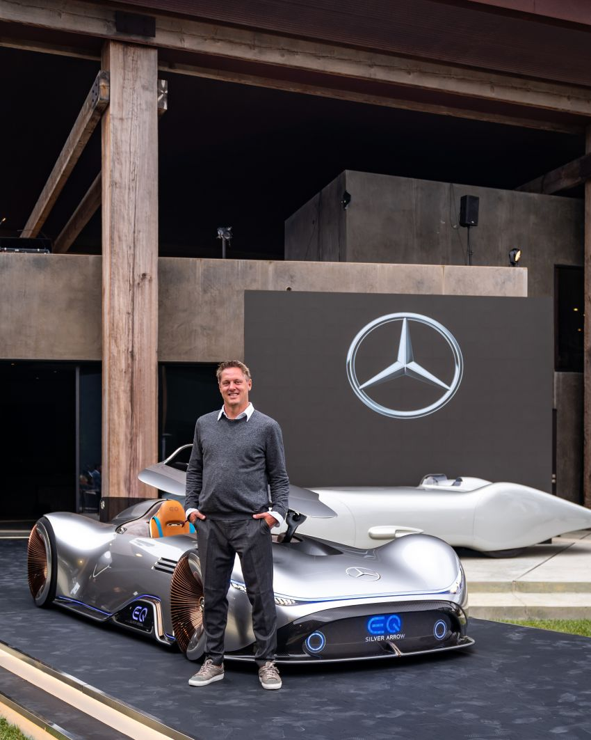 Mercedes-Benz Vision EQ Silver Arrow revealed at Pebble Beach – all-electric, single-seat, 738 hp concept Image #855395