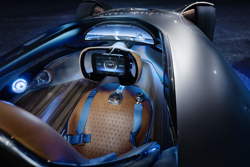 Mercedes-Benz Vision EQ Silver Arrow revealed at Pebble Beach – all-electric, single-seat, 738 hp concept Image #855441