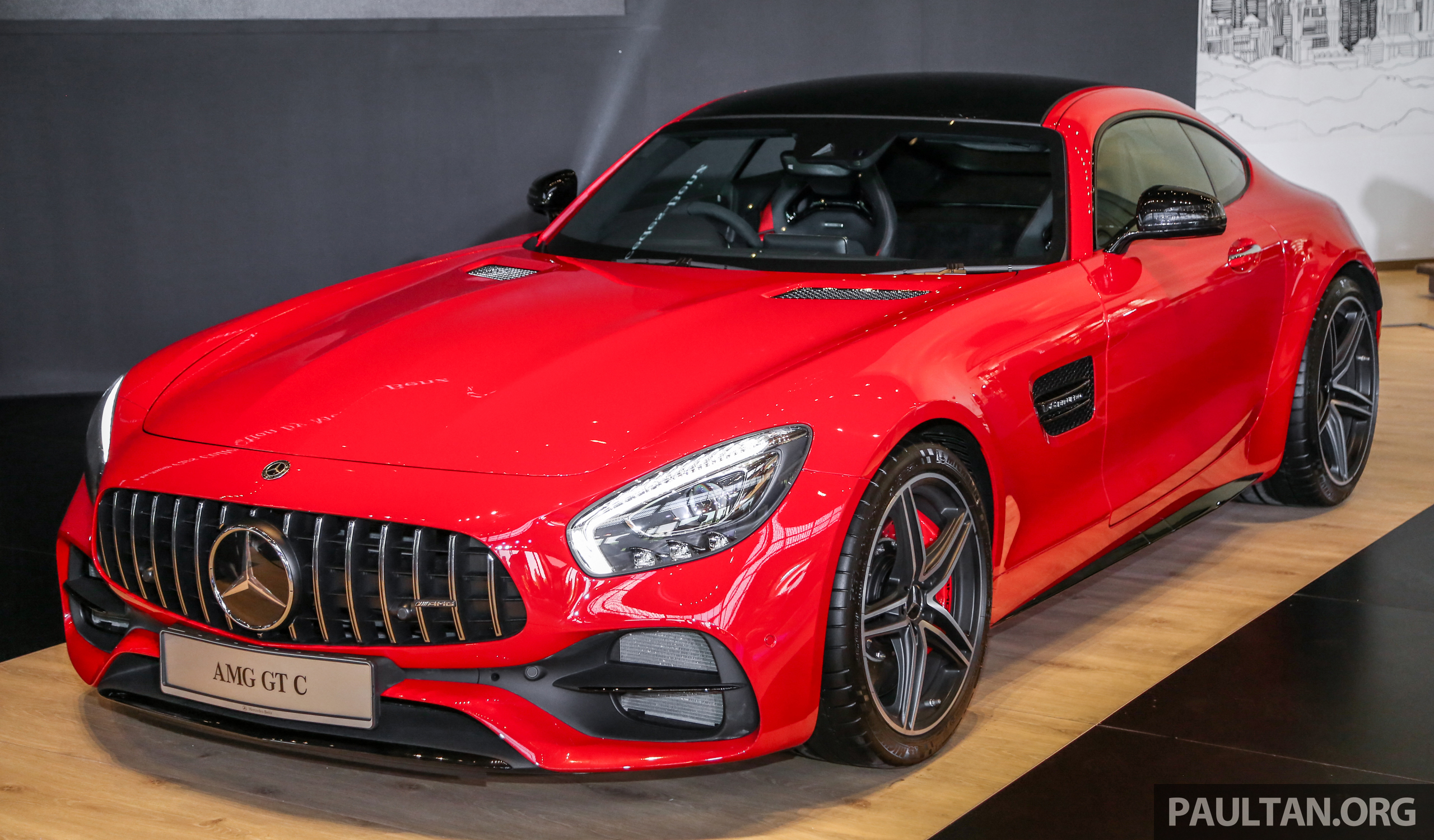 C190 Mercedes Amg Gt C Launched In Malaysia 557 Ps 0 100 Km H In 3 7 Seconds Price From Rm1 46 Mil Paultan Org