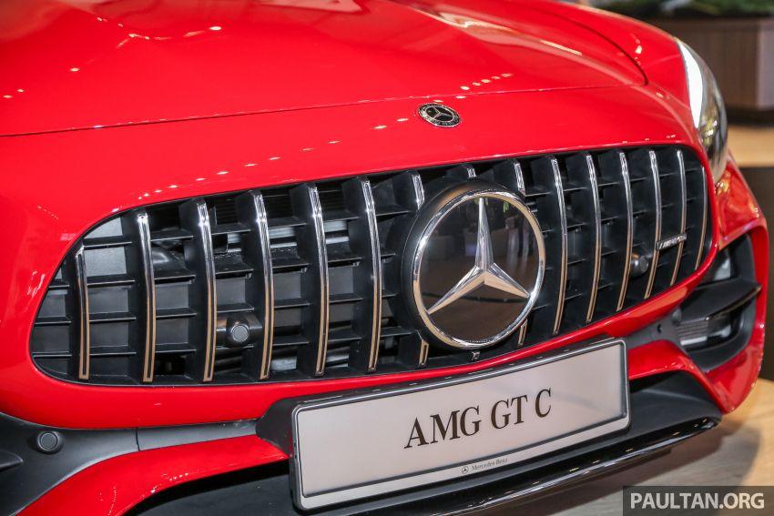 Mercedes-AMG GT C C190 dilancarkan di Malaysia – 557 PS, 0-100 km/j 3.7 saat dan harga dari RM1.46 juta Image #854723