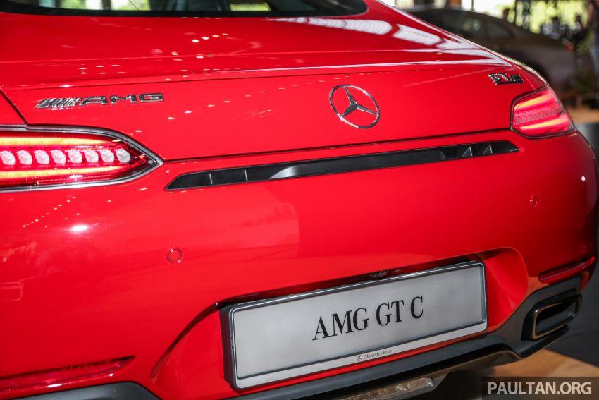 Mercedes-AMG GT C C190 dilancarkan di Malaysia – 557 PS, 0-100 km/j 3.7 saat dan harga dari RM1.46 juta Image #854750