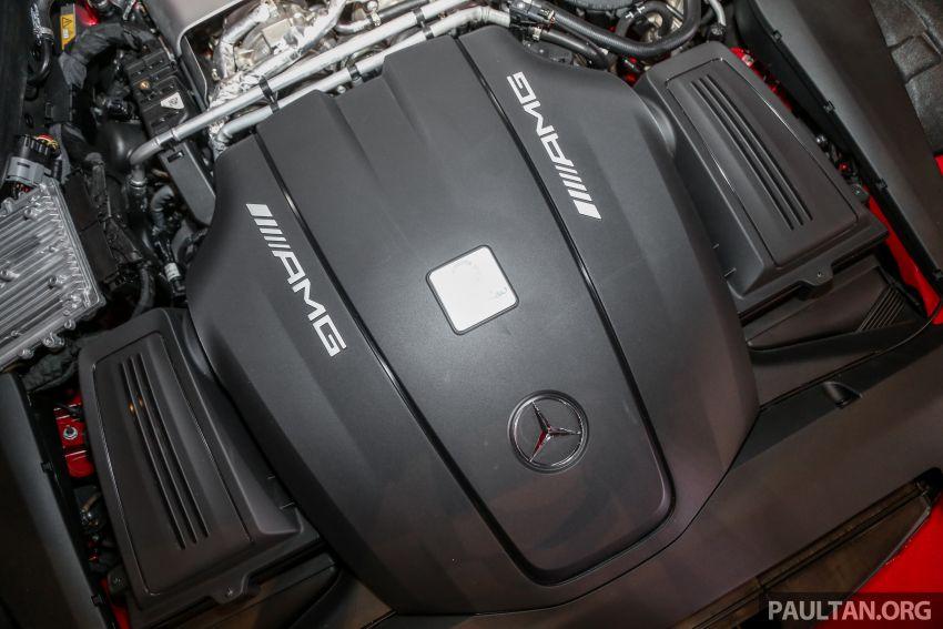 Mercedes-AMG GT C C190 dilancarkan di Malaysia – 557 PS, 0-100 km/j 3.7 saat dan harga dari RM1.46 juta Image #854753