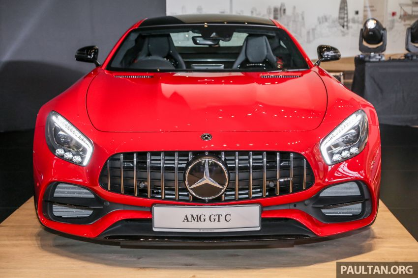 C190 Mercedes-AMG GT C launched in Malaysia – 557 PS, 0-100 km/h in 3.7 seconds, price from RM1.46 mil Image #854382