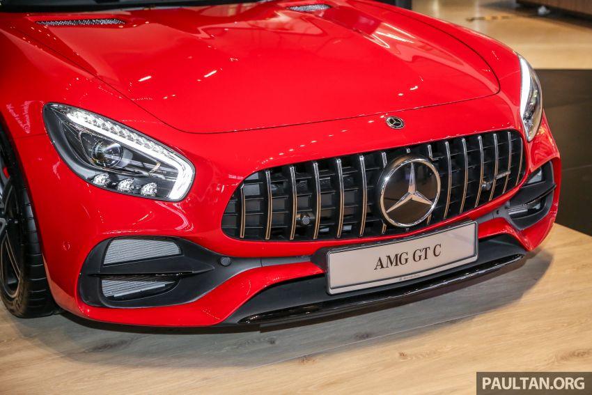 Mercedes-AMG GT C C190 dilancarkan di Malaysia – 557 PS, 0-100 km/j 3.7 saat dan harga dari RM1.46 juta Image #854716