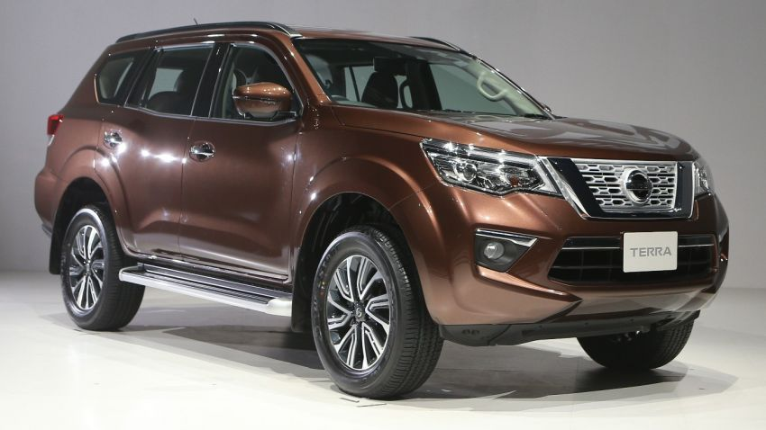 Nissan Terra launched in Thailand, 2.3L biturbo diesel Image #852429