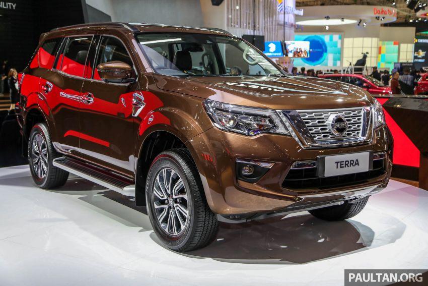 GIIAS 2018: Nissan Terra - Navara-based 7-seat SUV