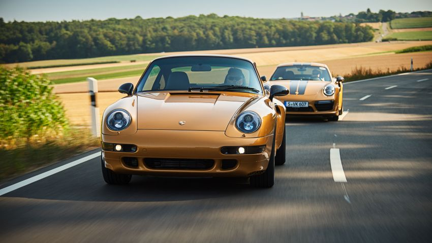 Porsche reveals Project Gold – one-off 993 Turbo S Image #855944