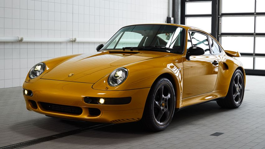 Porsche reveals Project Gold – one-off 993 Turbo S Image #855888