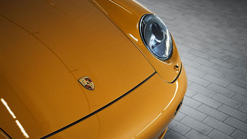 Porsche reveals Project Gold – one-off 993 Turbo S Image #855907
