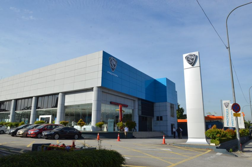 Proton lancar pusat 4S Chan Sow Lin yang dinaiktaraf Image #847055