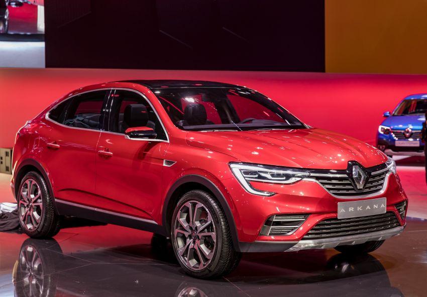 Renault Arkana – new C-segment crossover revealed Image #856274