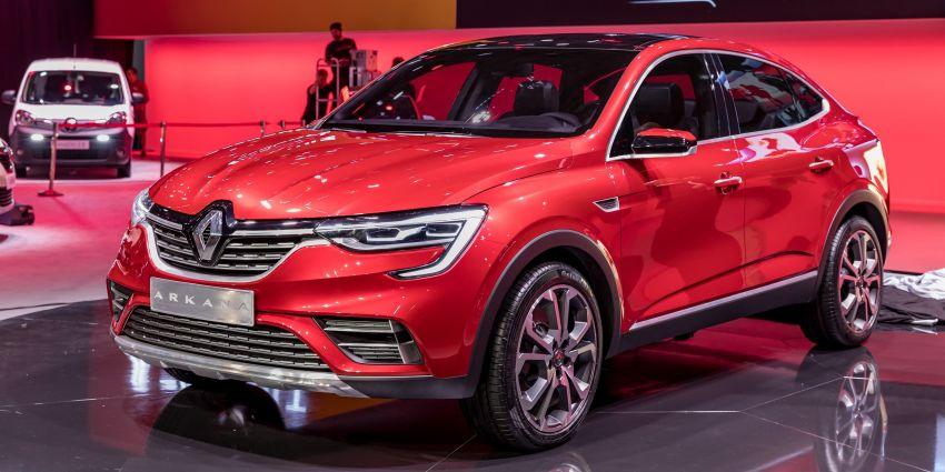 Renault Arkana – new C-segment crossover revealed Image #856275