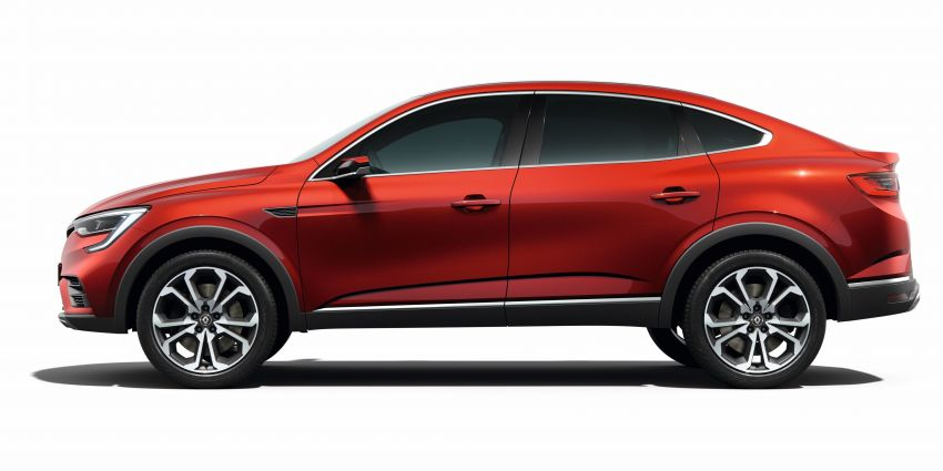 Renault Arkana – new C-segment crossover revealed Image #856266