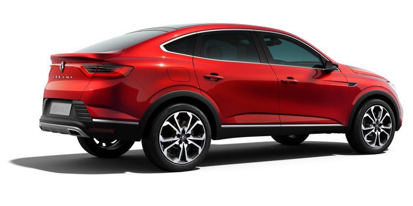 Renault Arkana – new C-segment crossover revealed Image #856267