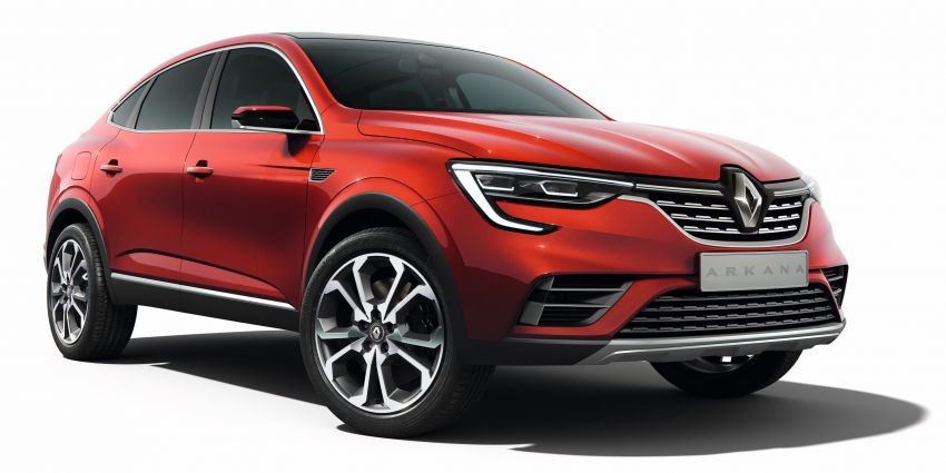 Renault Arkana – new C-segment crossover revealed Image #856268