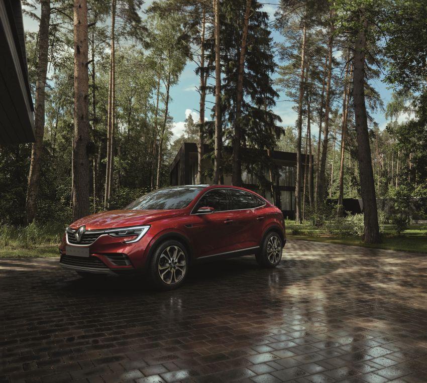 Renault Arkana – new C-segment crossover revealed Image #856269