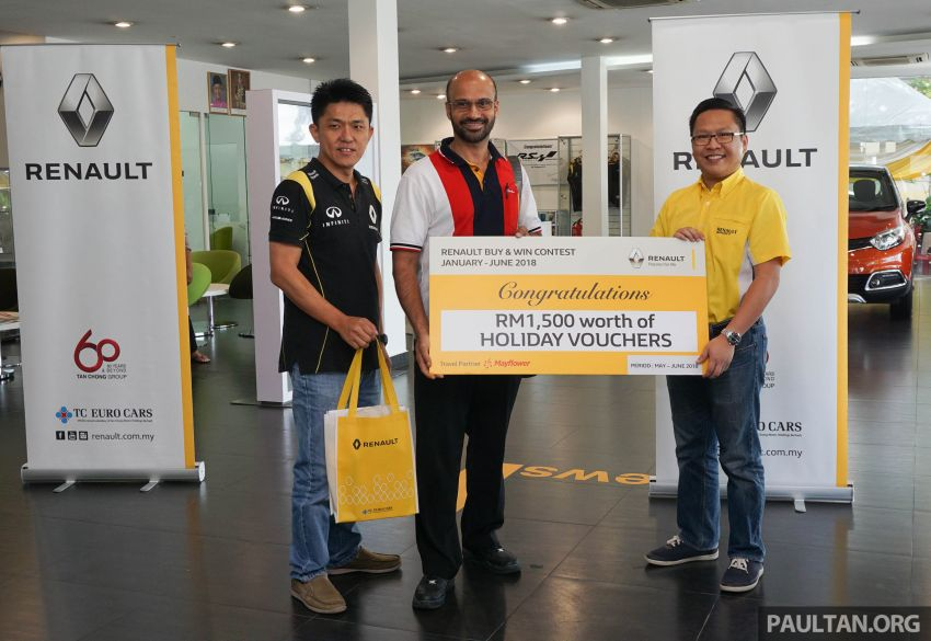 Renault 'Buy & Win' grand prize winner nets a Twizy Image #852828