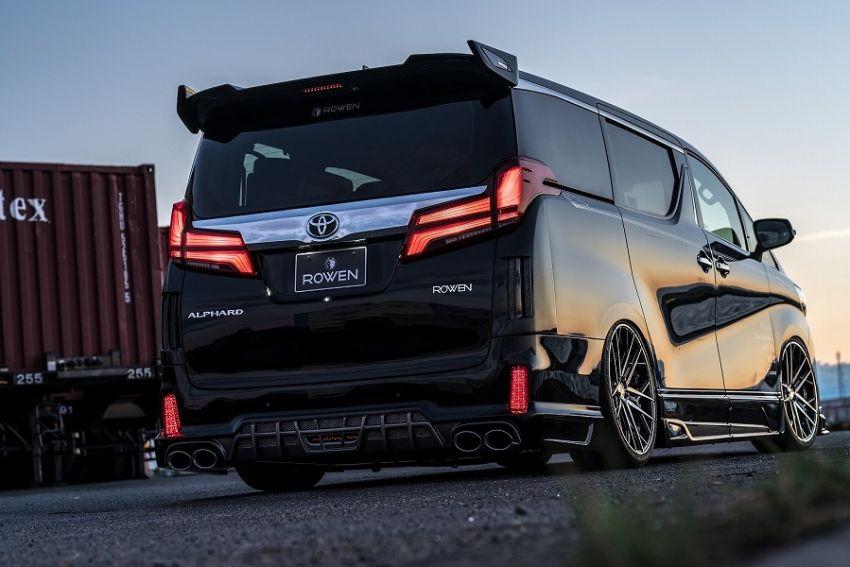 2018 Toyota Alphard with Rowen bodykit looks wild Image #851152