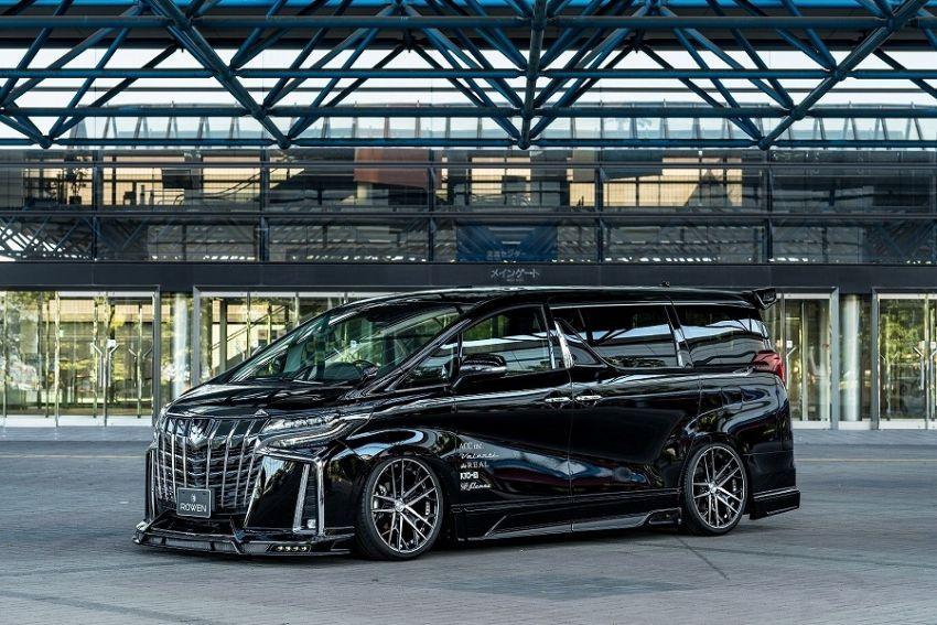 2018 Toyota Alphard with Rowen bodykit looks wild Image #851157
