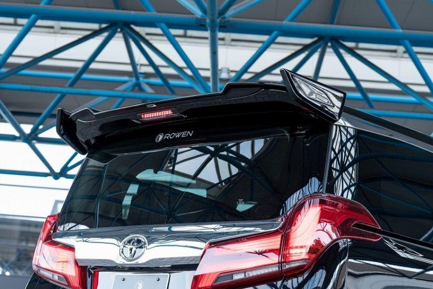 2018 Toyota Alphard with Rowen bodykit looks wild Image #851162