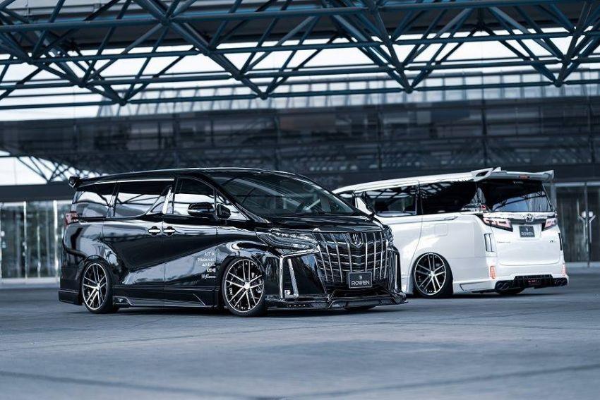 2018 Toyota Alphard with Rowen bodykit looks wild Image #851144