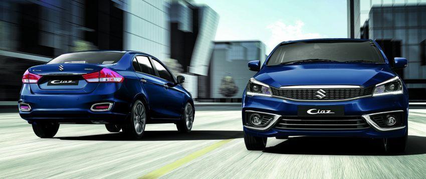 Suzuki Ciaz facelift diberikan pilihan enjin hibrid 1.5L Image #853027