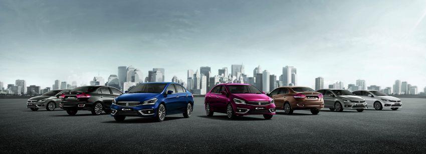 Suzuki Ciaz facelift diberikan pilihan enjin hibrid 1.5L Image #853029