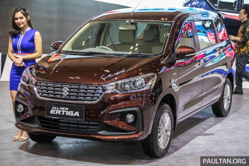 GIIAS 2018: Second-gen Suzuki Ertiga MPV detailed Image #846643