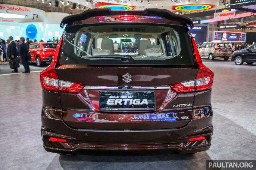 GIIAS 2018: Second-gen Suzuki Ertiga MPV detailed Image #846646