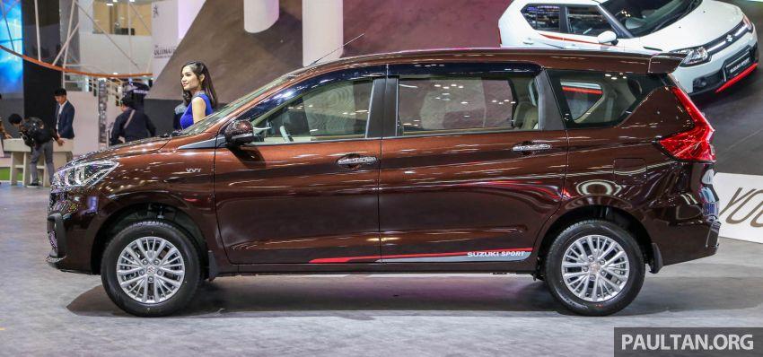 GIIAS 2018: Second-gen Suzuki Ertiga MPV detailed Image #846647