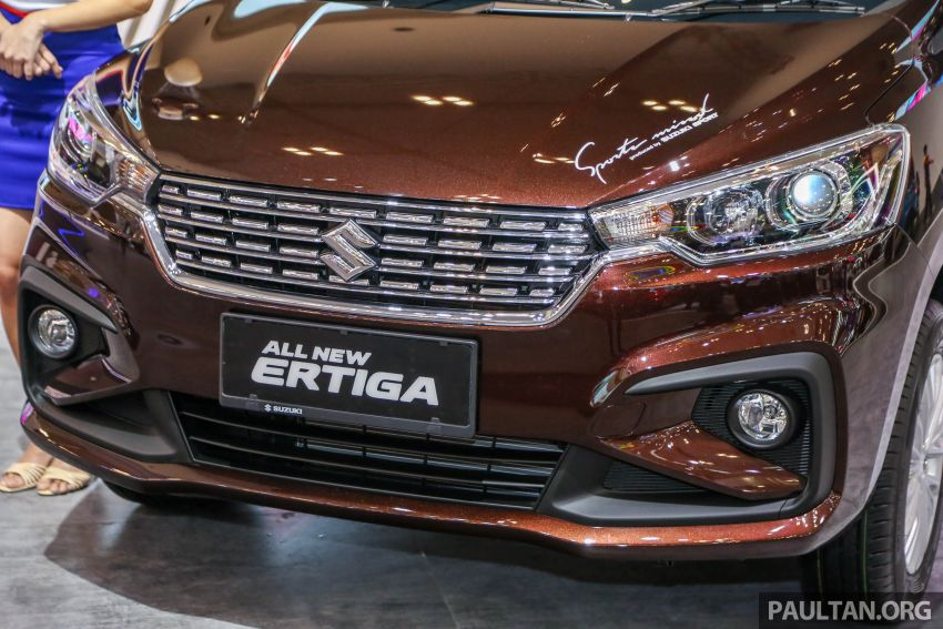 GIIAS 2018: Second-gen Suzuki Ertiga MPV detailed Image #846648