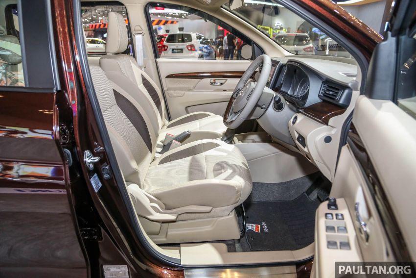 GIIAS 2018: Second-gen Suzuki Ertiga MPV detailed Image #846658