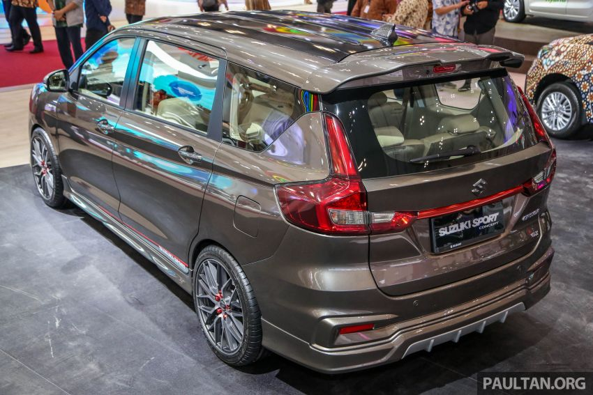GIIAS 2018: Second-gen Suzuki Ertiga MPV detailed Image #846665