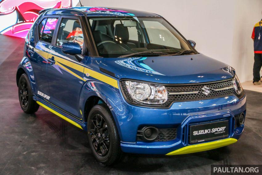 GIIAS 2018: Suzuki Ignis Sport tampil lebih cool